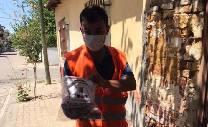 Çine Belediyesi 'Veren elin, alan eli görmediği' kampanyasını başarıyla uyguladı