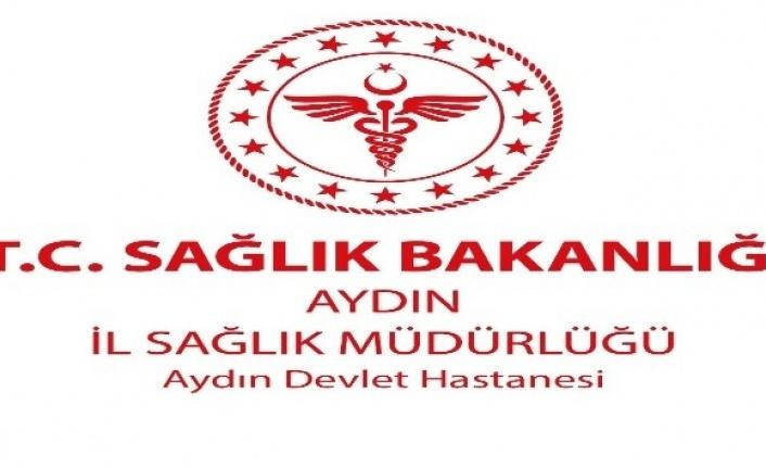 Aydın Devlet Hastanesi'nde hasta yakınları bilgilendiriliyor