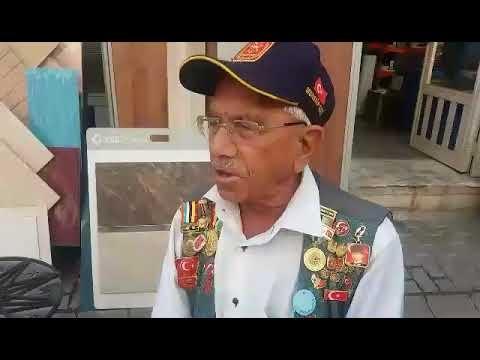 Çine Esnafı Kore Gazisi Mehmet Türk'ü Misafir Etti