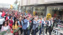AK Parti, Çine'de 'Türkiye İçin Evet' e yürüdü